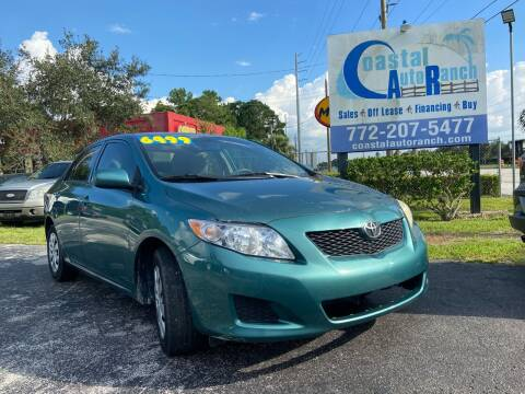2009 Toyota Corolla for sale at Coastal Auto Ranch, Inc. in Port Saint Lucie FL