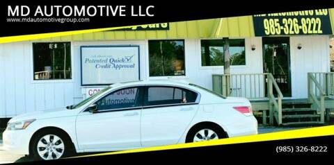 2010 Honda Accord for sale at MD AUTOMOTIVE LLC in Slidell LA