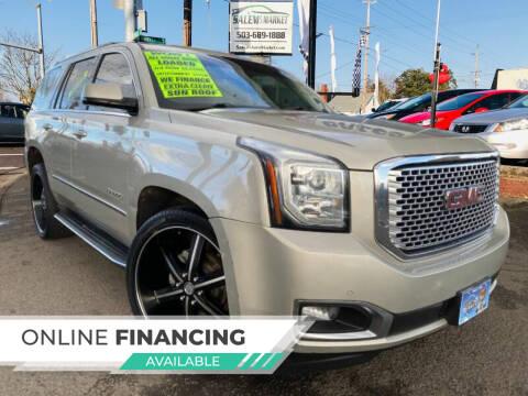 2016 GMC Yukon for sale at Salem Auto Market in Salem OR