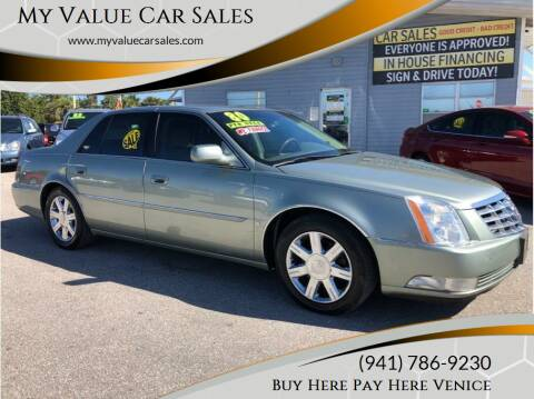 2006 Cadillac DTS for sale at My Value Car Sales - Upcoming Cars in Venice FL
