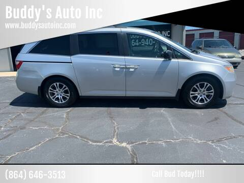 2011 Honda Odyssey for sale at Buddy's Auto Inc in Pendleton, SC