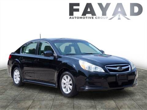 2011 Subaru Legacy for sale at FAYAD AUTOMOTIVE GROUP in Pittsburgh PA