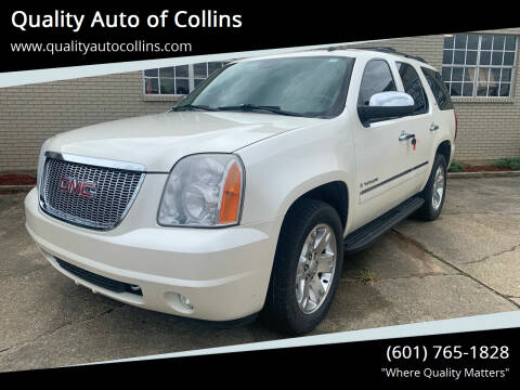 2009 GMC Yukon for sale at Quality Auto of Collins in Collins MS