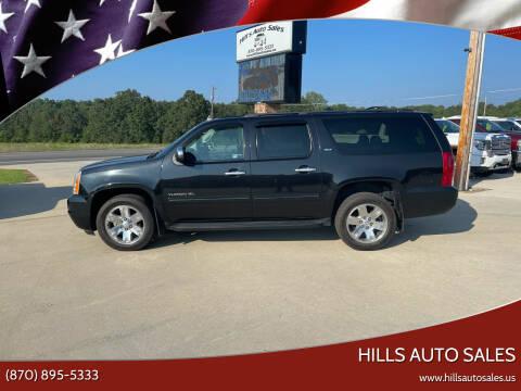 2013 GMC Yukon XL for sale at Hills Auto Sales in Salem AR