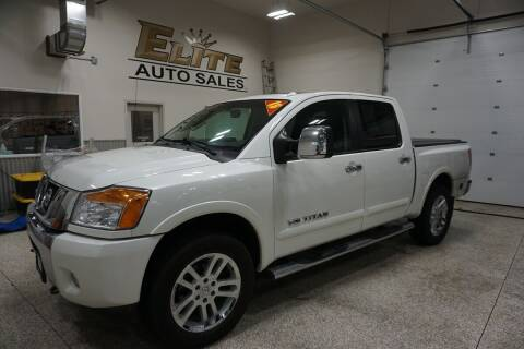2015 Nissan Titan for sale at Elite Auto Sales in Ammon ID
