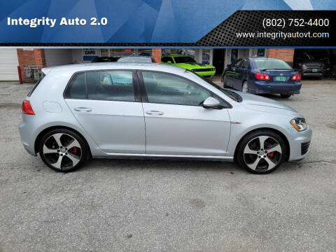 2015 Volkswagen Golf GTI for sale at Integrity Auto 2.0 in Saint Albans VT