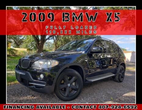 2009 BMW X5 for sale at AFFORDABLE ONE LLC in Orlando FL