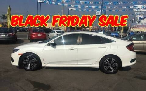 2017 Honda Civic for sale at Pacific West Imports in Los Angeles CA