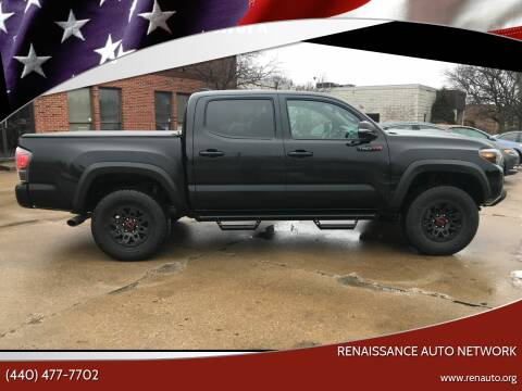 2019 Toyota Tacoma for sale at Renaissance Auto Network in Warrensville Heights OH