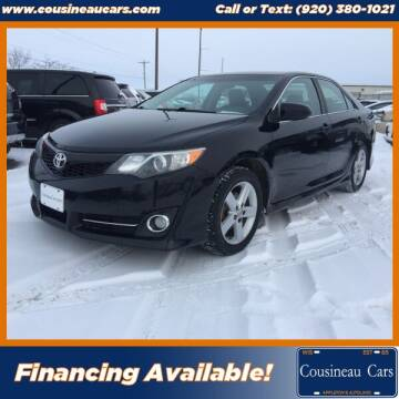 2012 Toyota Camry for sale at CousineauCars.com in Appleton WI