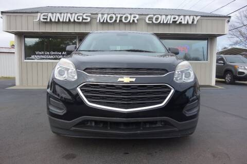 2016 Chevrolet Equinox for sale at Jennings Motor Company in West Columbia SC