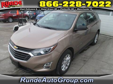 2018 Chevrolet Equinox for sale at Runde Chevrolet in East Dubuque IL
