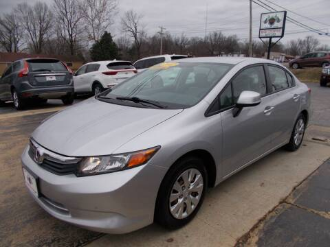 2012 Honda Civic for sale at High Country Motors in Mountain Home AR