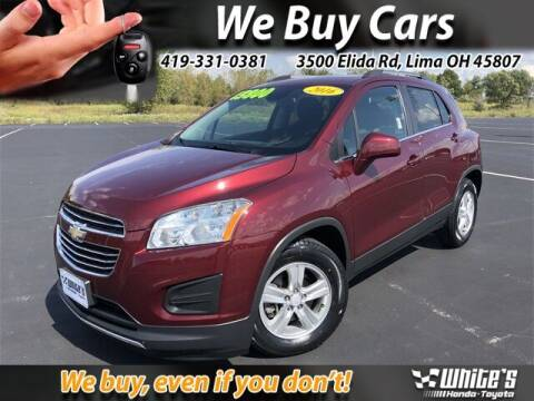 2016 Chevrolet Trax for sale at White's Honda Toyota of Lima in Lima OH