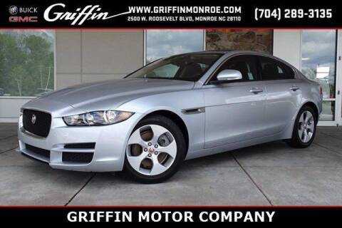 2018 Jaguar XE for sale at Griffin Buick GMC in Monroe NC