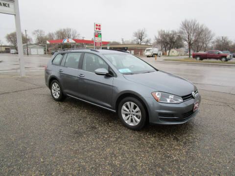 2017 Volkswagen Golf SportWagen for sale at Padgett Auto Sales in Aberdeen SD