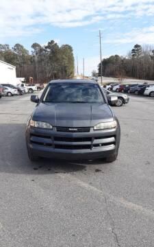 2002 Isuzu Axiom for sale at Mathews Used Cars, Inc. in Crawford GA