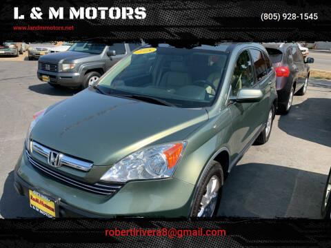 2008 Honda CR-V for sale at L & M MOTORS in Santa Maria CA
