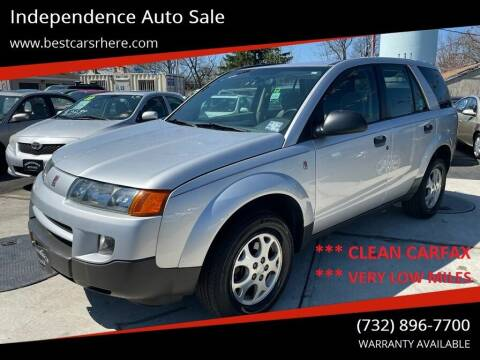 2003 Saturn Vue for sale at Independence Auto Sale in Bordentown NJ