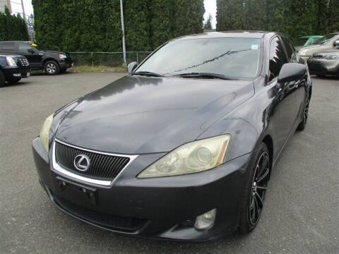 2007 Lexus IS 250 for sale at GMA Of Everett in Everett WA