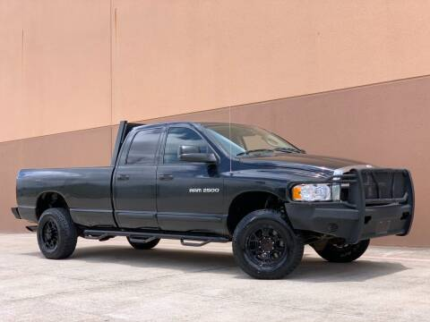 2004 Dodge Ram Pickup 2500 for sale at Texas Prime Motors in Houston TX