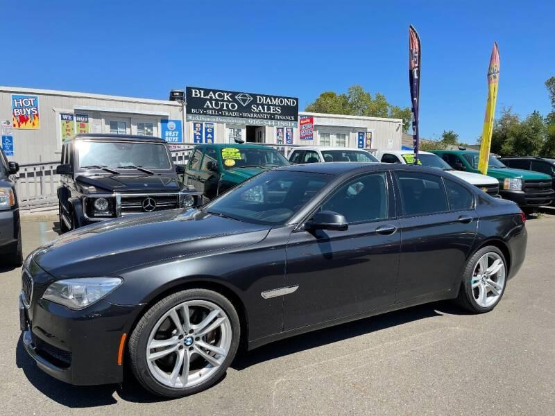 2013 BMW 7 Series for sale at Black Diamond Auto Sales Inc. in Rancho Cordova CA
