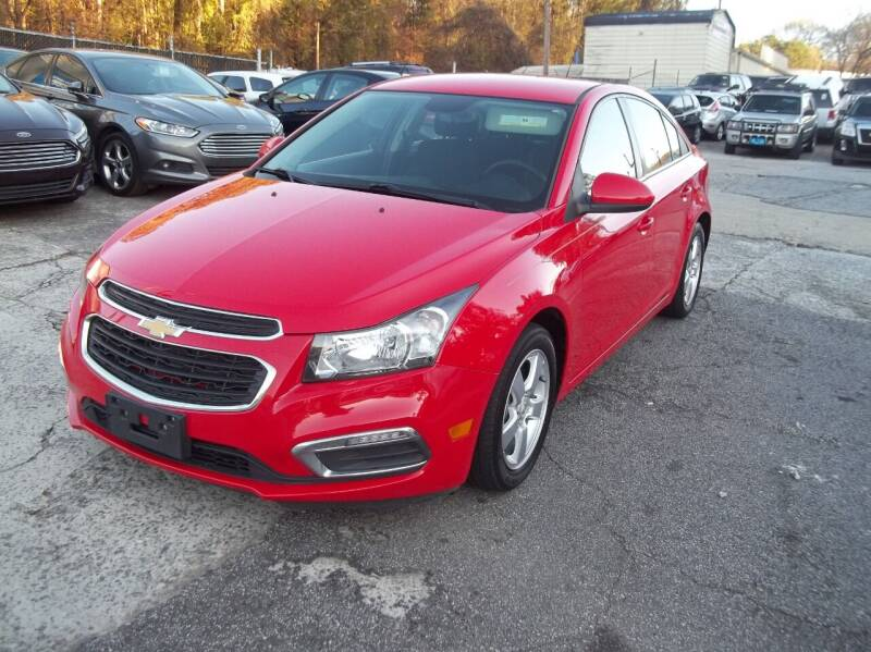 2016 Chevrolet Cruze Limited for sale at Key Auto Center in Marietta GA
