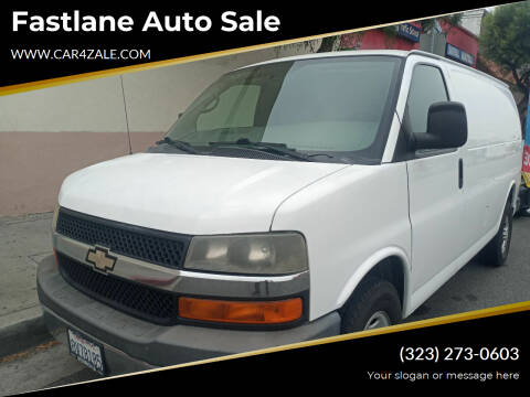 2010 Chevrolet Express Cargo for sale at Fastlane Auto Sale in Los Angeles CA