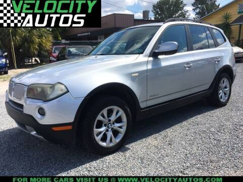 2010 BMW X3 for sale at Velocity Autos in Winter Park FL