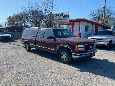 1998 GMC Sierra 1500 for sale at Crosby Auto LLC in Kansas City MO