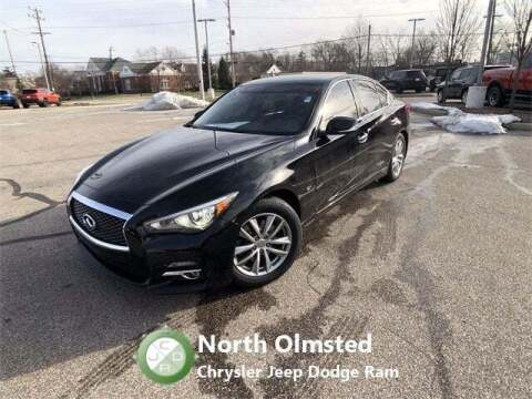 2015 Infiniti Q50 for sale at North Olmsted Chrysler Jeep Dodge Ram in North Olmsted OH