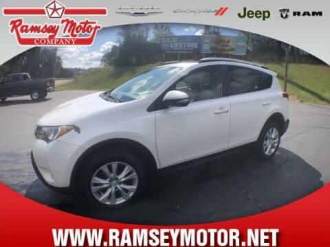 2013 Toyota RAV4 for sale at RAMSEY MOTOR CO in Harrison AR