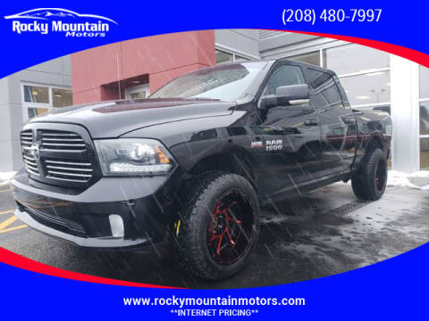 2013 RAM Ram Pickup 1500 for sale at Rocky Mountain Motors in Idaho Falls ID