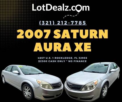 2007 Saturn Aura for sale at ROCKLEDGE in Rockledge FL