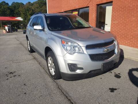 2015 Chevrolet Equinox for sale at Credit Cars LLC in Lawrenceville GA