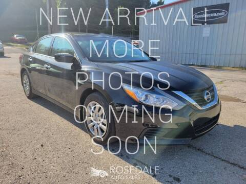 2018 Nissan Altima for sale at Rosedale Auto Sales Incorporated in Kansas City KS