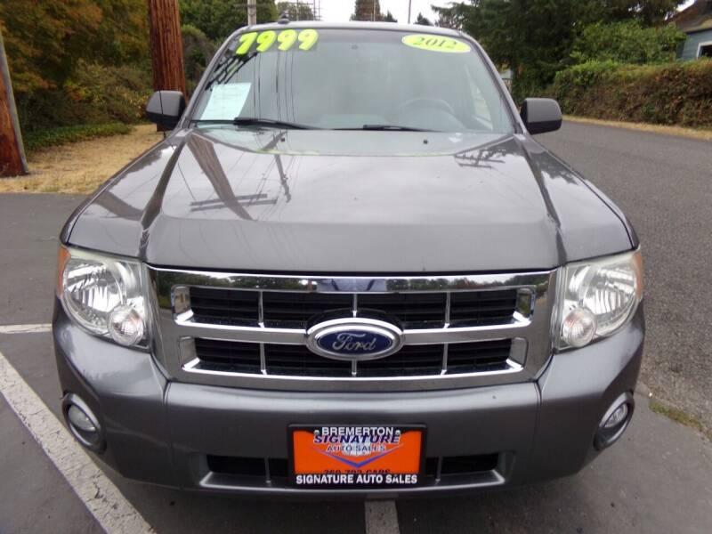 2012 Ford Escape for sale at Signature Auto Sales in Bremerton WA