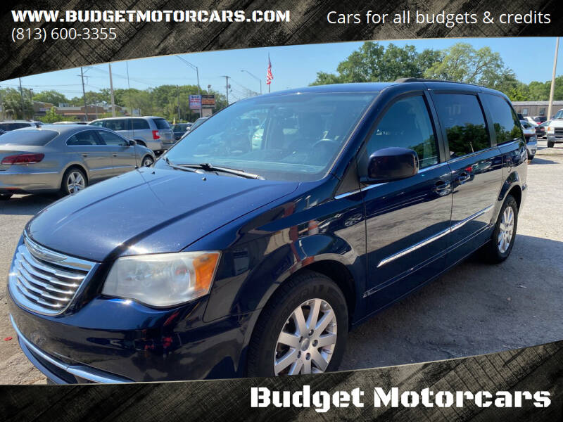 2013 Chrysler Town and Country for sale at Budget Motorcars in Tampa FL