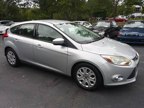2012 Ford Focus for sale at Weaver Motorsports Inc in Cary NC