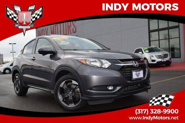 2018 Honda HR-V for sale at Indy Motors Inc in Indianapolis IN