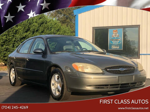 2003 Ford Taurus for sale at First Class Autos in Maiden NC