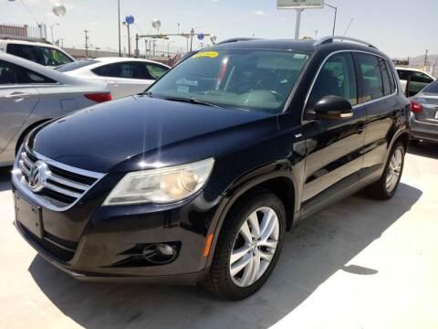 2010 Volkswagen Tiguan for sale at Hugo Motors INC in El Paso TX