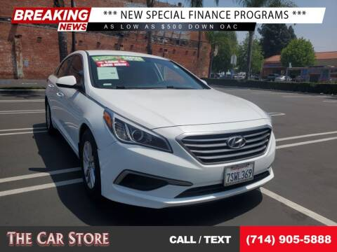 2016 Hyundai Sonata for sale at The Car Store in Santa Ana CA