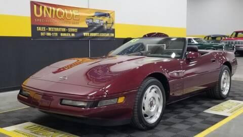 1993 Chevrolet Corvette for sale at UNIQUE SPECIALTY & CLASSICS in Mankato MN