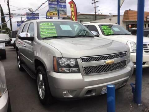 2008 Chevrolet Tahoe for sale at LA PLAYITA AUTO SALES INC - 3271 E. Firestone Blvd Lot in South Gate CA