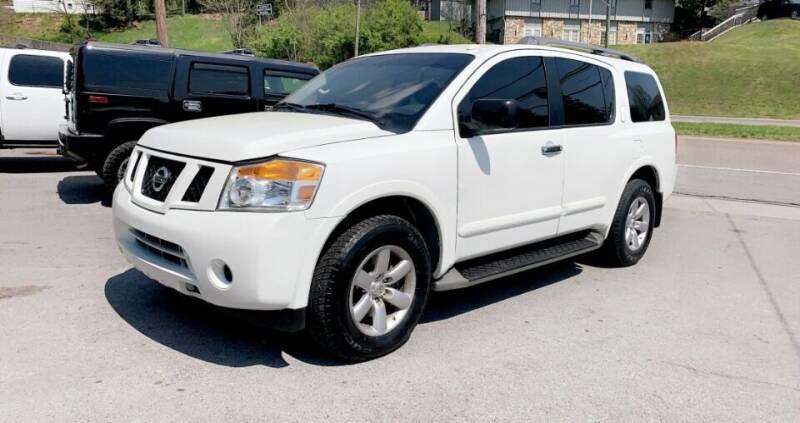 2015 Nissan Armada for sale at North Knox Auto LLC in Knoxville TN