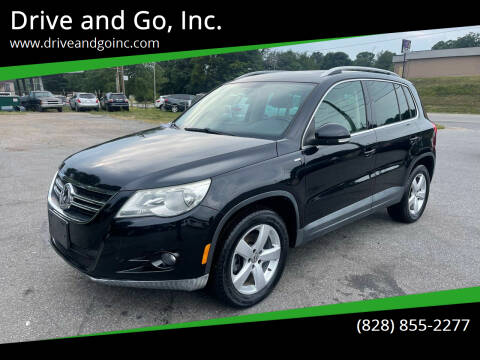 2010 Volkswagen Tiguan for sale at Drive and Go, Inc. in Hickory NC