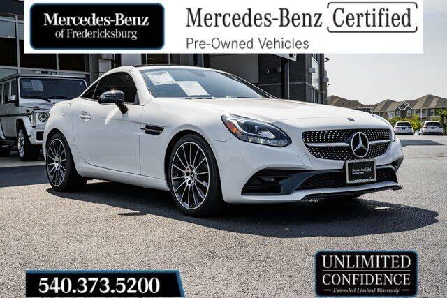2019 Mercedes-Benz SLC for sale in Fredericksburg, VA