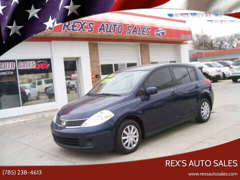 2008 Nissan Versa for sale at Rex's Auto Sales in Junction City KS