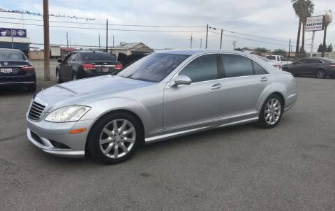 2007 Mercedes-Benz S-Class for sale at First Choice Auto Sales in Bakersfield CA